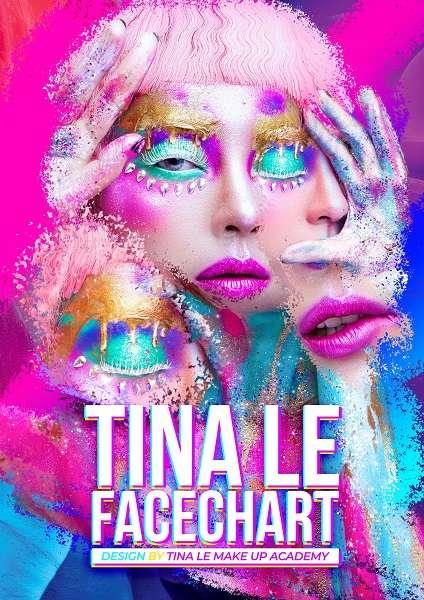 Ảnh bìa Facechart Tina Le Make up 2020