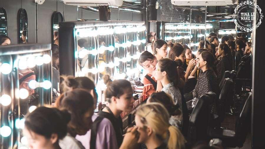 Cơ sở đào tạo Tina Le Acdemy được đánh giá là đạt tiêu chuẩn quốc tế về đào tào – dạy nghề make up chuyên nghiệp.