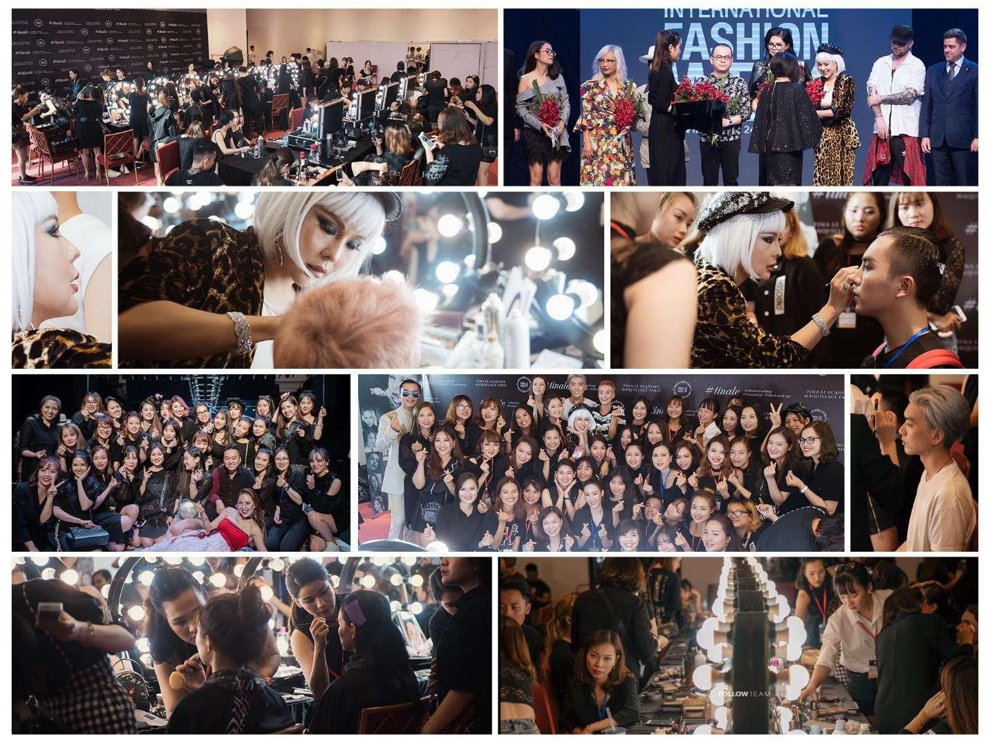 Tự hào là đơn vị đồng hành, Tina Lê và ekip đã góp phần tạo nên thành công vang dội tại tuần lễ thời trang mang tầm cỡ quốc tế Vietnam International Fashion Week (VIFW) 2018