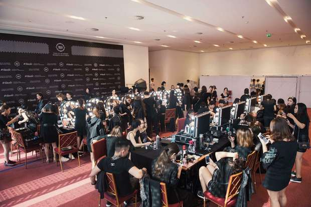 Hình ảnh hậu trường sự kiện Vietnam International Fashion Week 2018