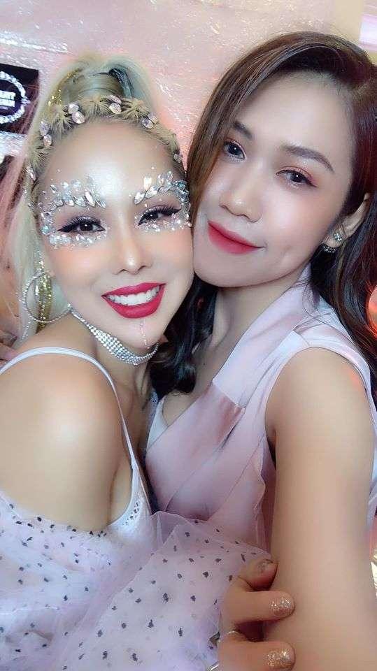 Dung Đỗ là một trong những học viên thành công tại Tina Le Make Up