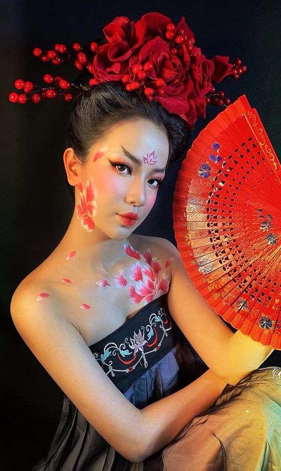 Một số tác phẩm make up đẹp không tì vết của cô nàng Dung Đỗ(3)