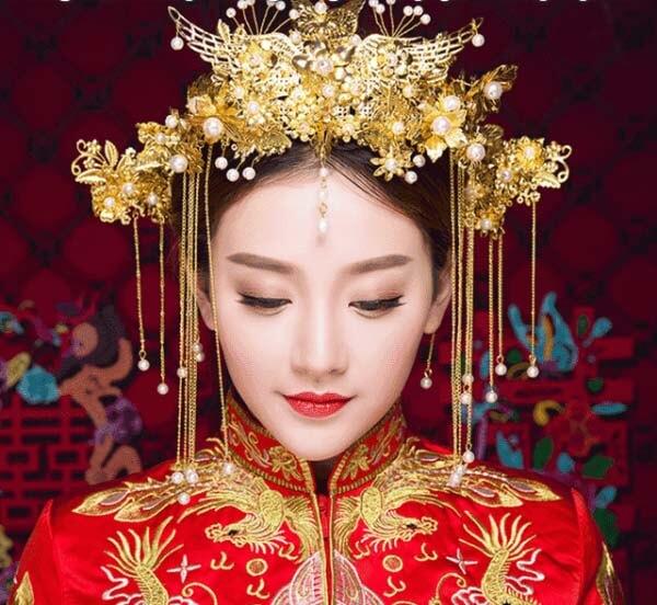 Xu hướng trang điểm cô dâu Trung Hoa