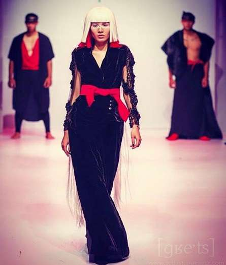 Tống Hương Thảo - người mẫu áo dài 2012 vốn đã là gương mặt quen thuộc tại nhiều fashion Show.