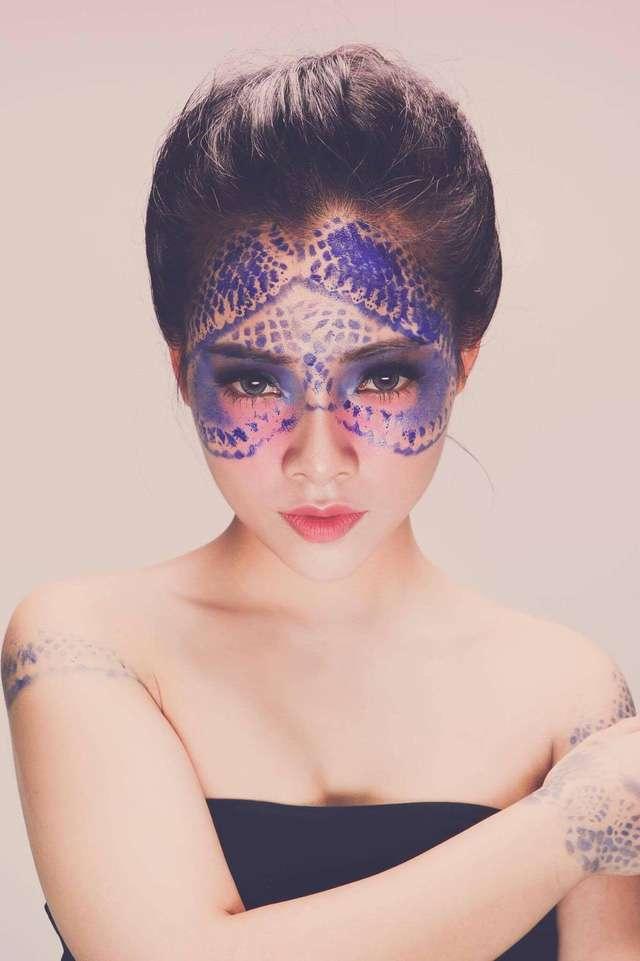 Tác phẩm của học viên tại Tina Le Make Up Academy