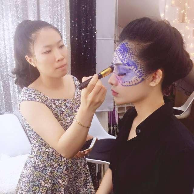 Tác phẩm của học viên tại Tina Le Make Up Academy (2)