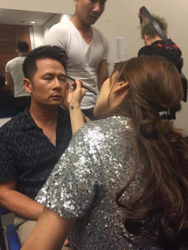 Make up cho ca sĩ Bằng Kiều