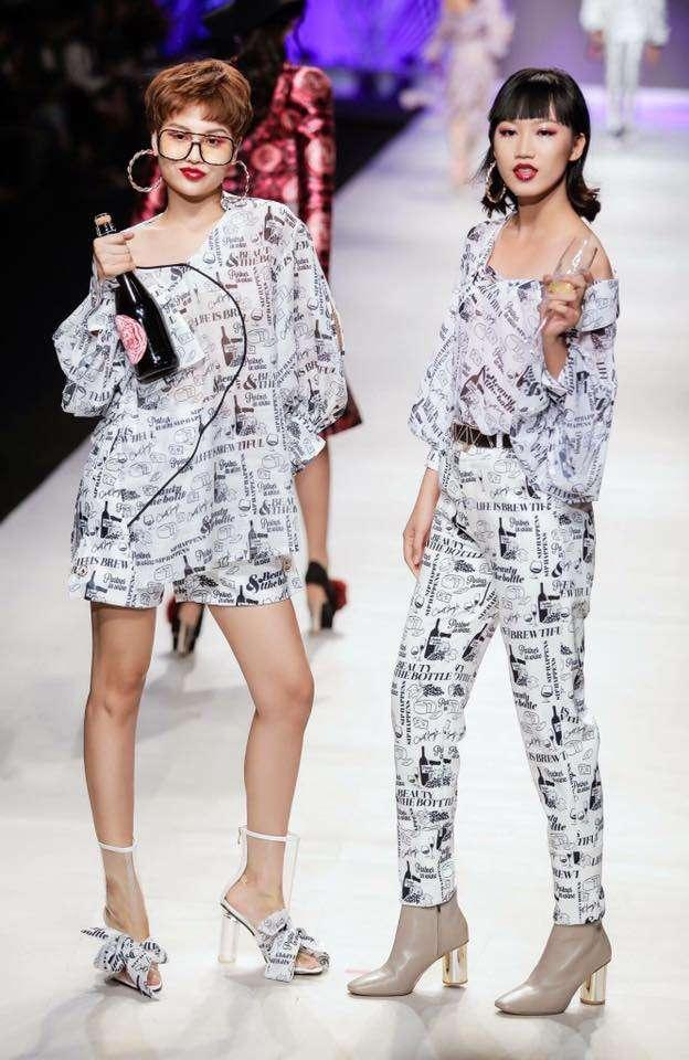Các tác phẩm của team Tina Le Make Up tại show diễn Vietnam International Fashion Week 2017 (1)