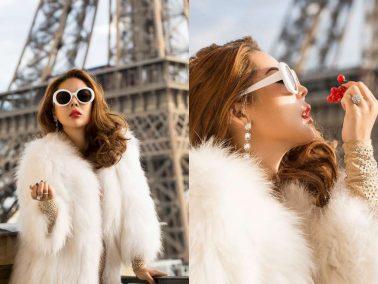 """Diện trang phục cực trendy, """"bà trùm make up"""" Tina Lê kiêu kỳ khó rời mắt trên đất Pháp"""