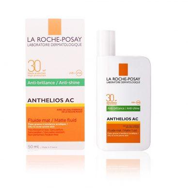 Kem chống nắng La Roche Posay - Anthelios AC SPF 50+ Matte Fluid Anti-Shine