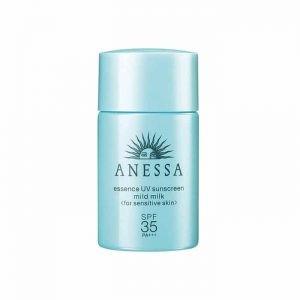 Kem chống nắng Anessa xanh