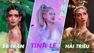 """BB Trần, Hải Triều hóa """"Mỹ Hầu Vương"""" tại make up show Diamond Life của Tina Lê Make Up"""
