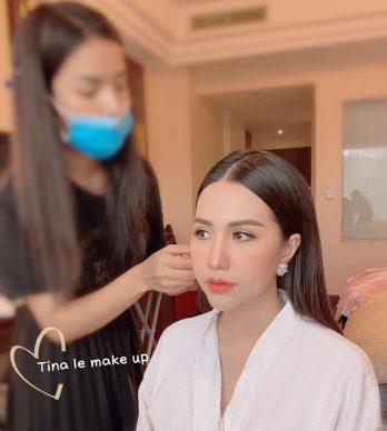 Trang điểm cô dâu Tina Le Make Up